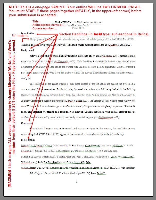 The Annotated Bibliography - How to Prepare an Annotated